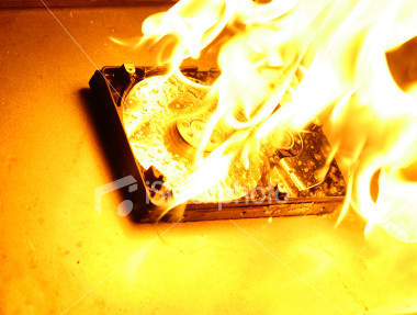harddrive-on-fire